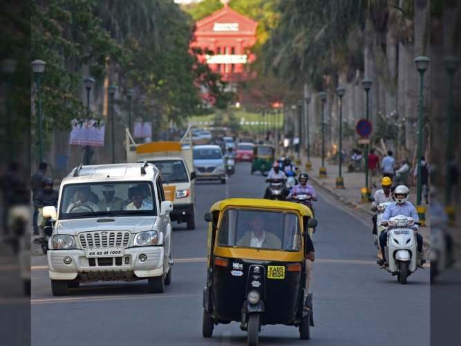 Allowing vehicles in Cubbon Park on Sundays will increase pollution