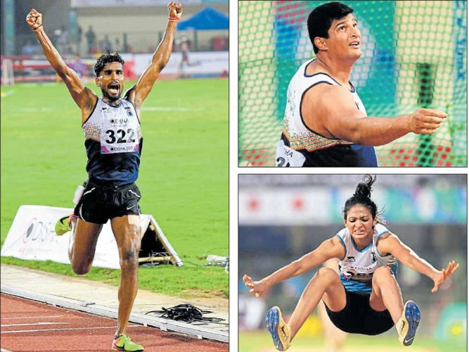 India start with two gold