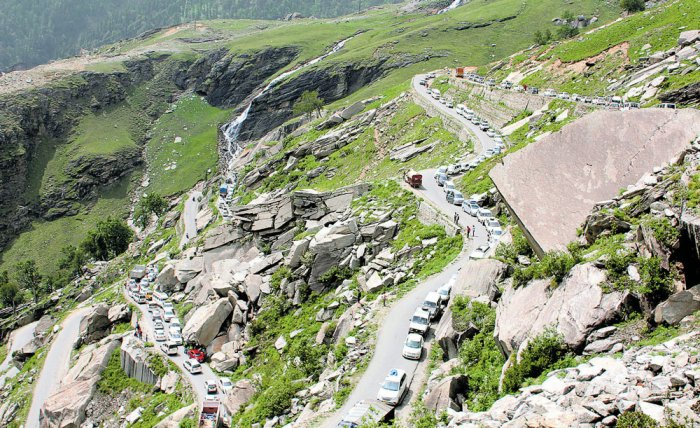 Heaven spots in HP hills turning chaotic