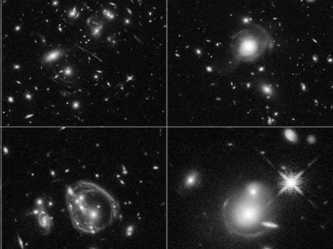 Distant galaxy discovered from Hubble images