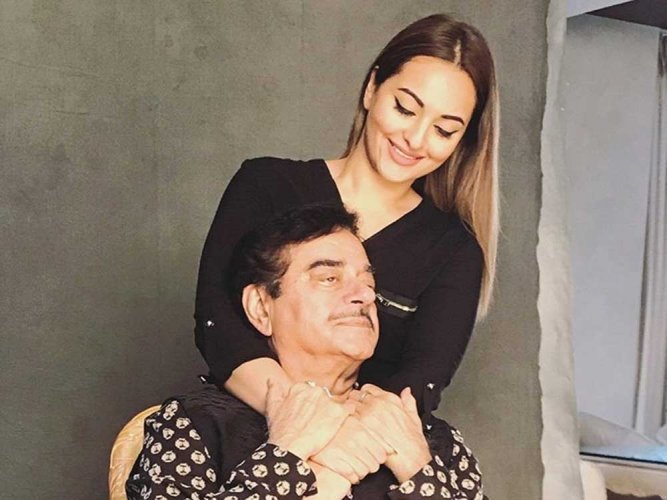 Sonakshi, Shatrughan Sinha support education for the girl child