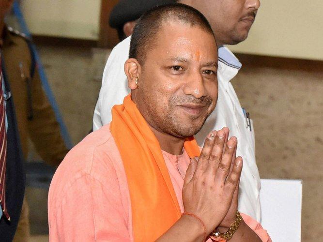 Watch: Yogi blesses disciples  on Guru Purnima