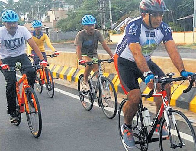 52 KSRP personnel to pedal  1,700 km for Swachh Bharat