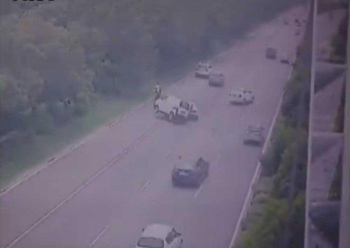 Deadly accident involving Lamborghini caught on camera in Noida Expressway