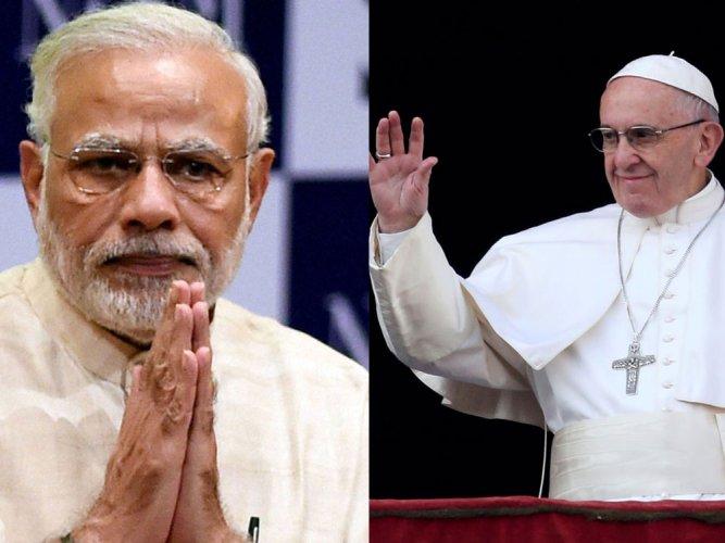 Modi to host Pope Francis