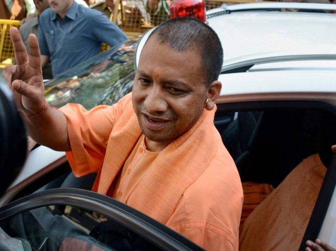 Now no AC, sofa, pomp and show at UP CM's field visits