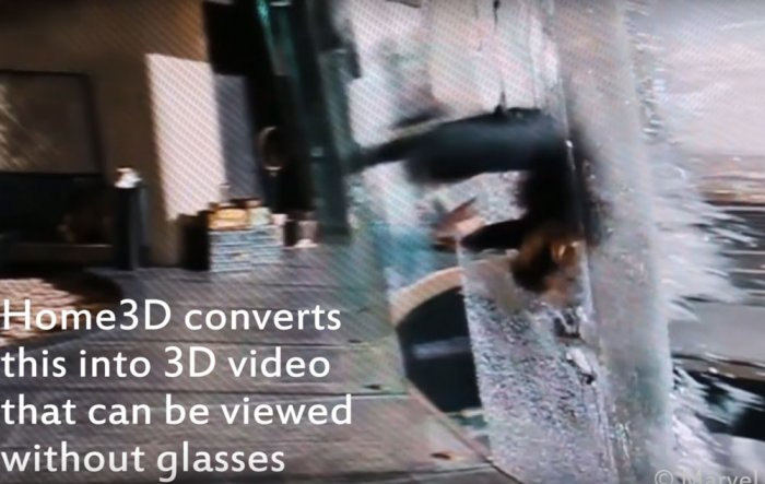 Now, you can watch 3D movies at home sans glasses