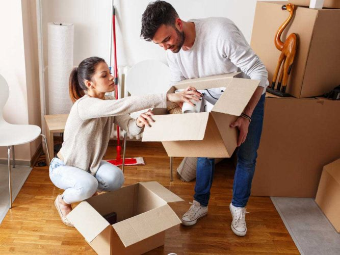 Moving in: furnished versus bare homes