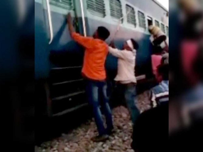Muslim family assaulted, robbed in train in UP