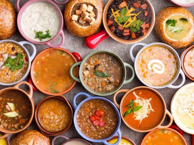 Grab a bowl of soup
