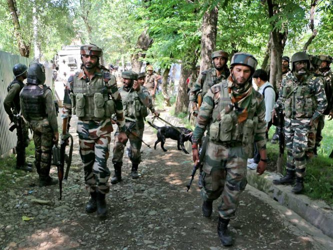 3 militants killed  in Tral encounter