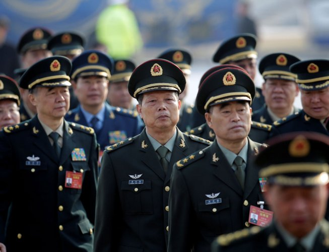 Chinese Army conducts live-fire drills in Tibet plateau