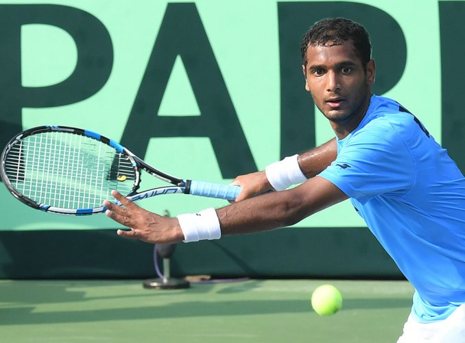 Career best rank of 168 in singles for Ramkumar