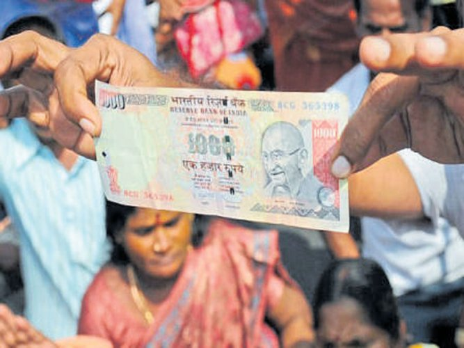 Centre not to open window to deposit scrapped notes: SC told
