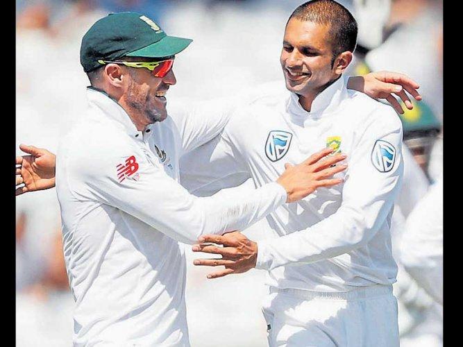 SA thump England to level series