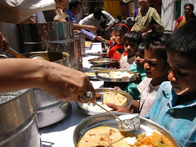 Tur dal may be part of midday meal