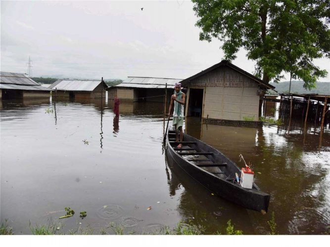 Eight dead in floods across country
