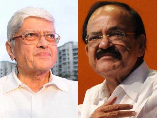 Vice Presidential poll: Naidu, Gandhi file nomination