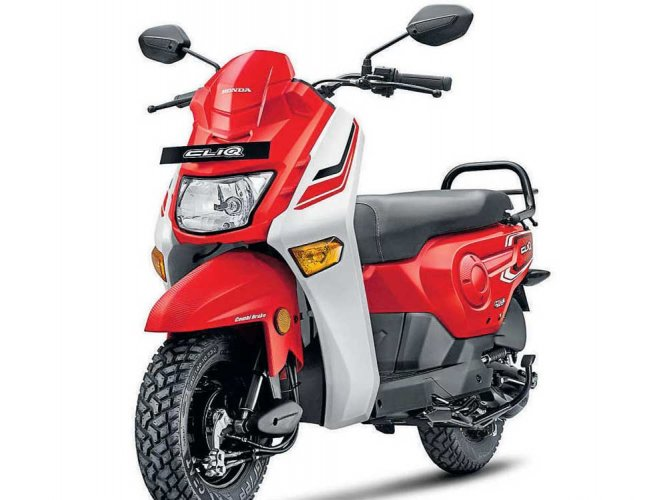 Honda introduces new-age scooter CLIQ