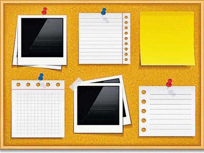 Bulletin Board.