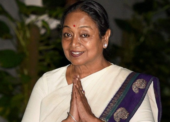 Highest vote for runner-up: Silver Lining in Meira Kumar's loss