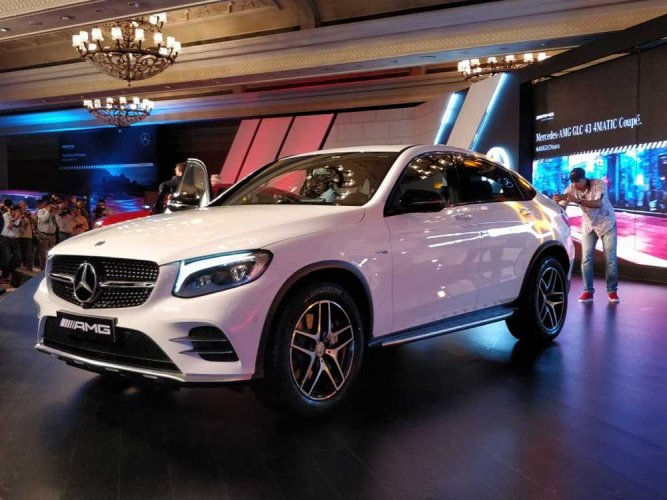 Mercedes launches AMG GLC 43 Coupe in India at Rs 74.8 lakh