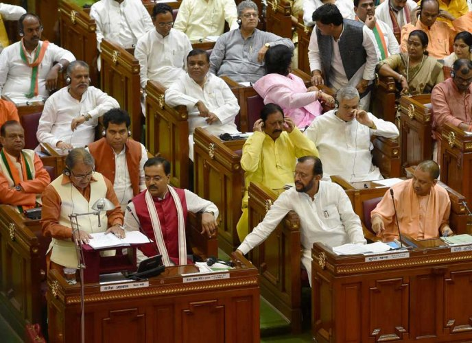 Govt-oppn standoff: Premature end to UP budget session likely