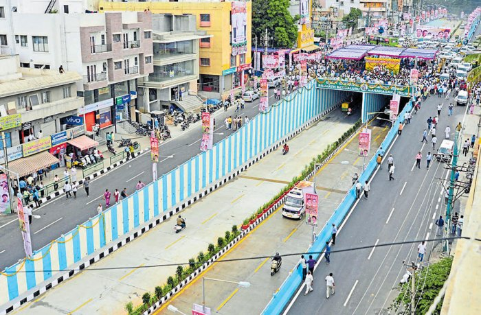 Magadi Rd underpass now open for traffic