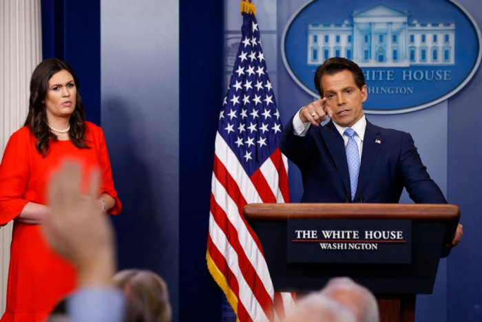 Need to reset ties with media, not Trump's style: Scaramucci