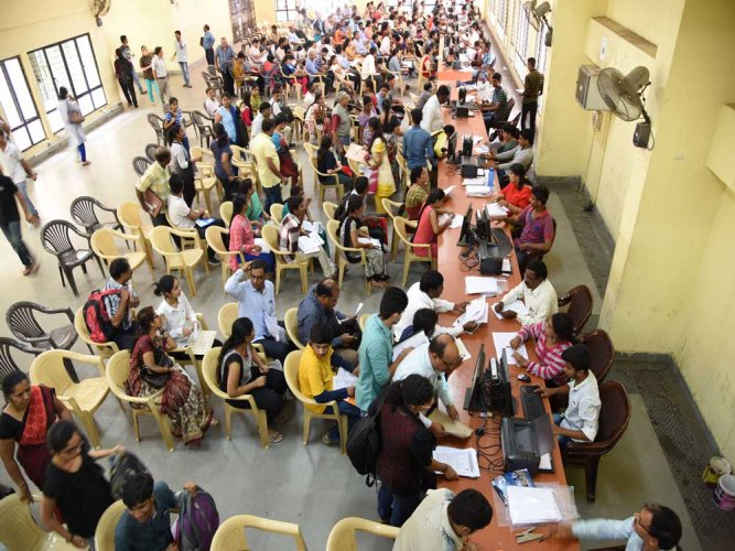 Option entry for CET 2nd extended round counselling begins