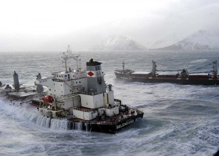 Fear of ship mishaps in the Arctic