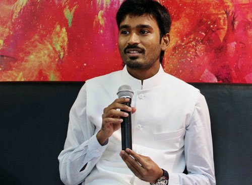 I'm looking forward to direct Hindi films: Dhanush