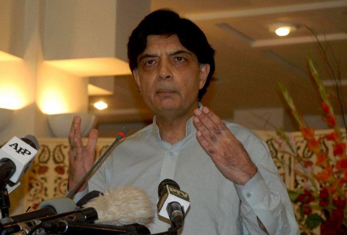 Pak interior minister says 'will resign after Panama verdict'