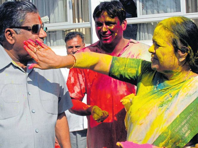 Afamily man, Dharam nurtured his voters  with gentle demeanour