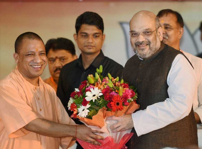 Amit Shah chairs UP BJP leaders meet amid 'murmurs of discontent'