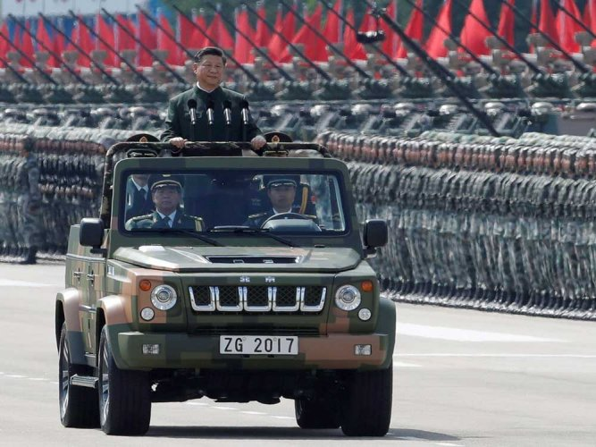 China can defeat all invading enemies: Xi