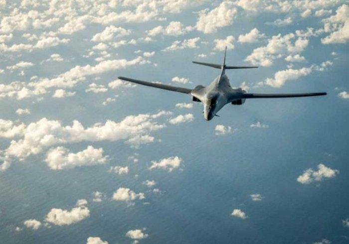 US flies bombers over Korean peninsula after North Korea missile test