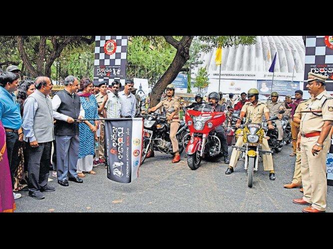 Bike rally to raise awareness against human trafficking