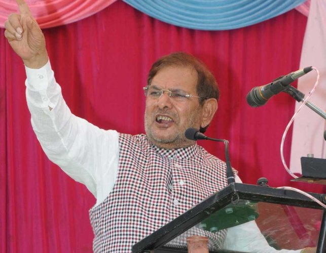 Nitish decision unfortunate, says Sharad Yadav