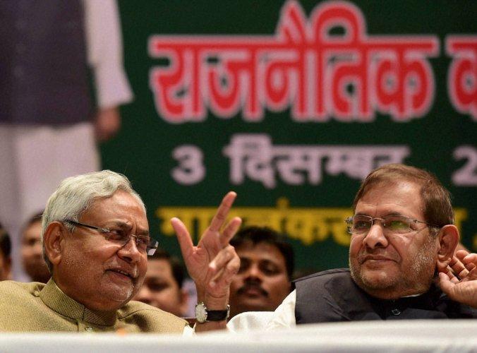 Nitish tells BJP not to placate Sharad Yadav
