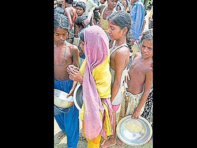 'Indicators for malnutrition in kids worsening'
