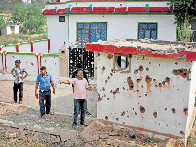 Pak shelling keeps border dwellers away from homes