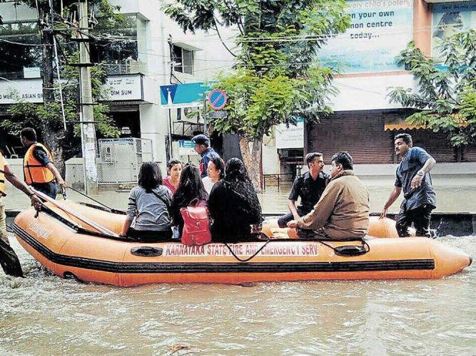 In five hours, Bengaluru received highest rain in 127 years