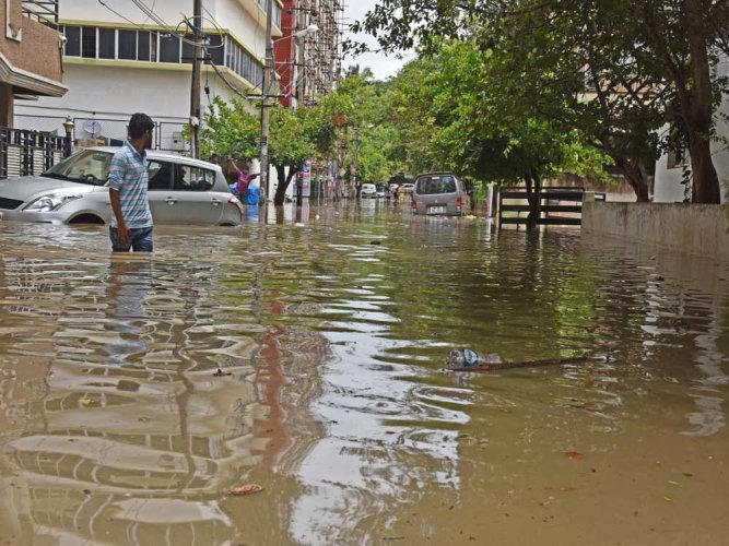 Day after rain havoc, govt busy with canteen launch