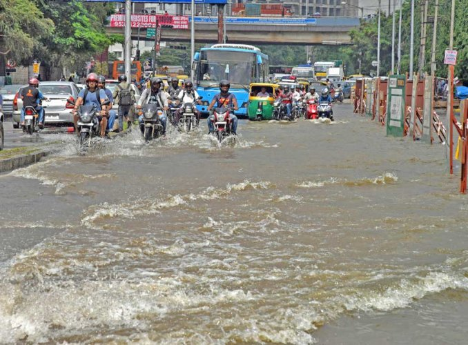 Bengaluru let 3.76 tmcft of rainwater go down the drain in 21 days