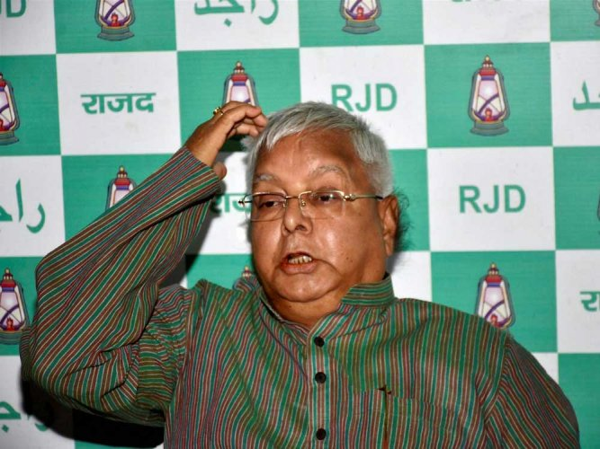 Lalu seeks two weeks time to appear before CBI in graft case