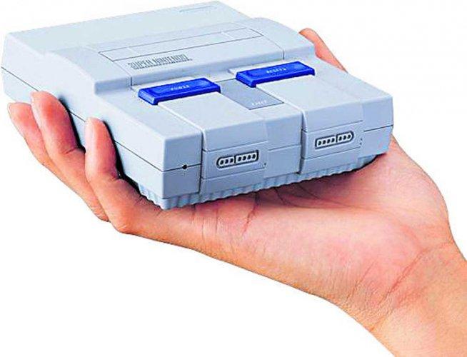 Super NES classic edition is Nostalgia