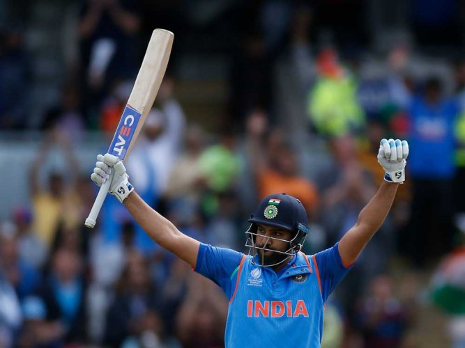 Rohit back in top-five in ODI rankings