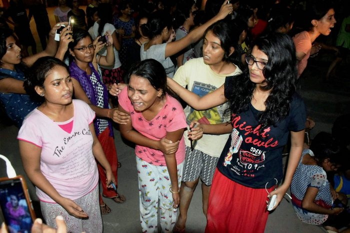 BHU students demand closure of all cases against 14 students