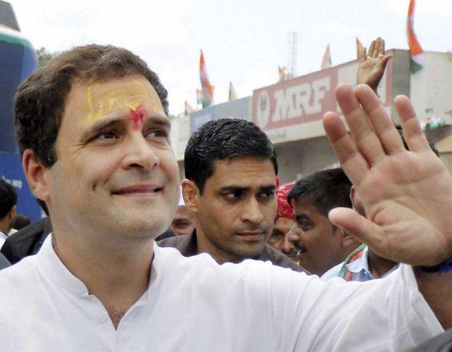 Andher nagari, chaupat raja: Rahul jeers at UP CM, his govt